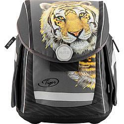 Рюкзак каркасный ортопедический школьный Тигр Kite