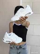 Женские кроссовки Nike Air Max,белые, фото 2