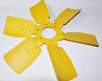 Крыльчатка вентилятора металлическая 6 лопастей (ММЗ) 245-1308040-А
