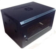 Шкаф коммутационный настенный 15U 600x450 черный