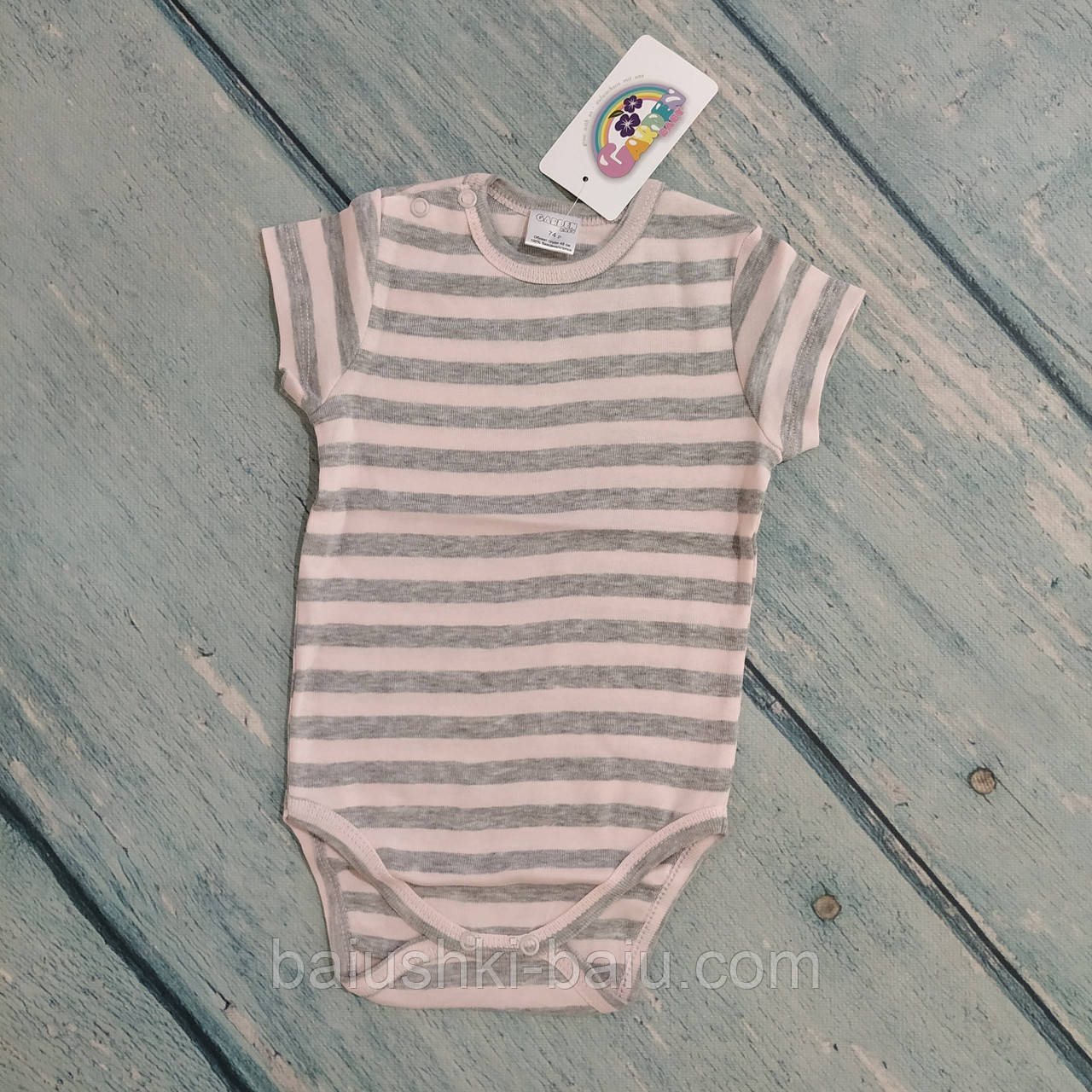 Боди футболка для девочки, р. 74 ТМ Garden Baby