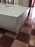 Отдельностоящая акриловая ванна с ножками Dusel DU108, 1700x800х580 мм, фото 6