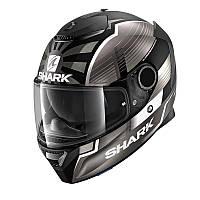 Мотошлем SHARK Spartan Zarco Malaysian GP Matt (белый)