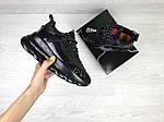 Жіночі кросівки Versace (чорні), фото 3