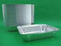 Контейнеры из пищевой фольги SP64L, (218*155*40), 960 мл, 100 шт/ пач