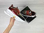 Жіночі кросівки Versace (леопардове), фото 8