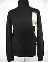 Пуловер черный для мальчиков  Школьный