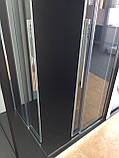 Душевая кабина Dusel DL194, 90х90х190, двери раздвижные, профиль хром, стекло прозрачное, фото 6