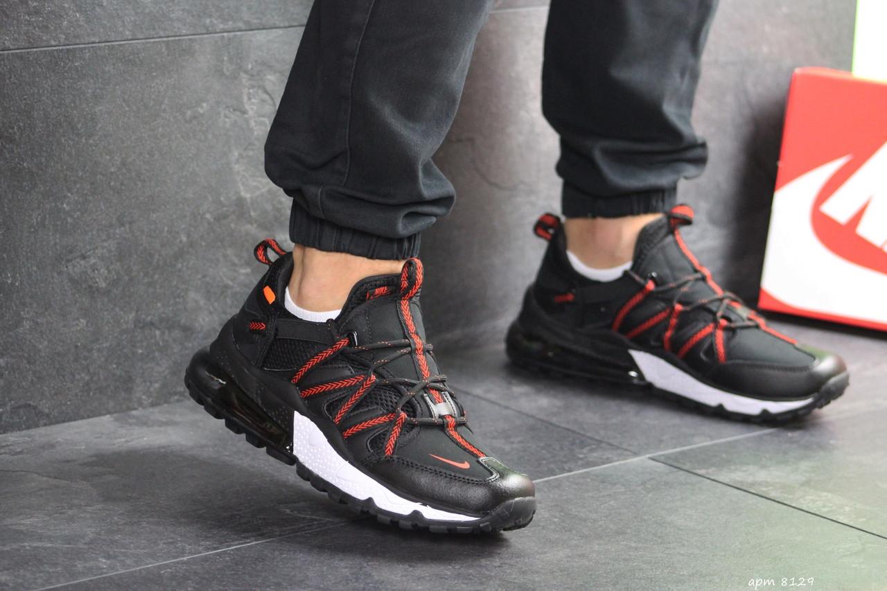 Мужские кроссовки Nike (черно-красные)