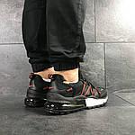Мужские кроссовки Nike (черно-красные), фото 4