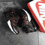 Мужские кроссовки Nike (черно-красные), фото 6