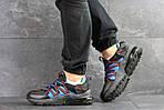 Чоловічі кросівки Nike (чорно-сині), фото 2