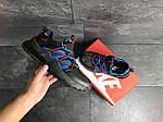Чоловічі кросівки Nike (чорно-сині), фото 5