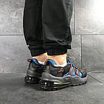 Чоловічі кросівки Nike (чорно-сині), фото 6