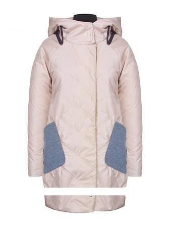 Детское демисезонное пальто для девочки Suber Byber | размеры 146-170р., фото 2