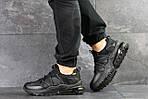 Мужские кроссовки Nike (черные), фото 2