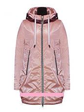 Детское демисезонное пальто для девочки Suber Byber | размеры 122-146р., фото 3