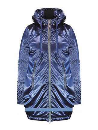 Детское демисезонное пальто для девочки Suber Byber | размеры 122-146р., фото 2