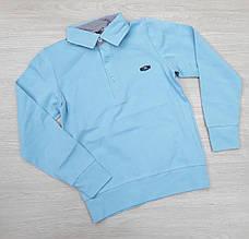 Кофта школьная для мальчика р. 10-12 лет опт голубая