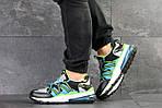 Чоловічі кросівки Nike (біло-чорні), фото 2
