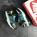 Чоловічі кросівки Nike (біло-чорні), фото 4
