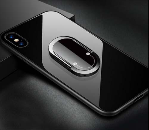 Держатель кольцо для телефона (попсокет / popsocket ) со встроенной Зажигалкой USB TANGARA
