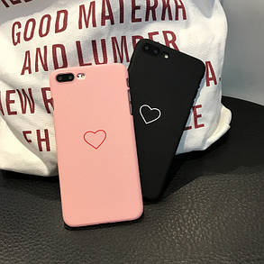 Чехол Case Cover Heart Love Pink для Apple IPhone X, фото 2