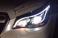 Тюнінг фари Subaru Forester 2012-2015 р. ст. стиль Мерседес