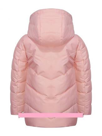 """Детская демисезонная куртка для девочки """"B.M.""""    104-128р., фото 2"""