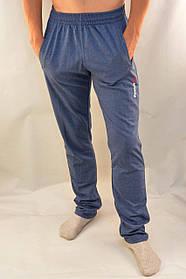 Брюки спортивные мужские трикотажные в новом модном цвете парламент  S - XXL Штаны спортивные - бренд