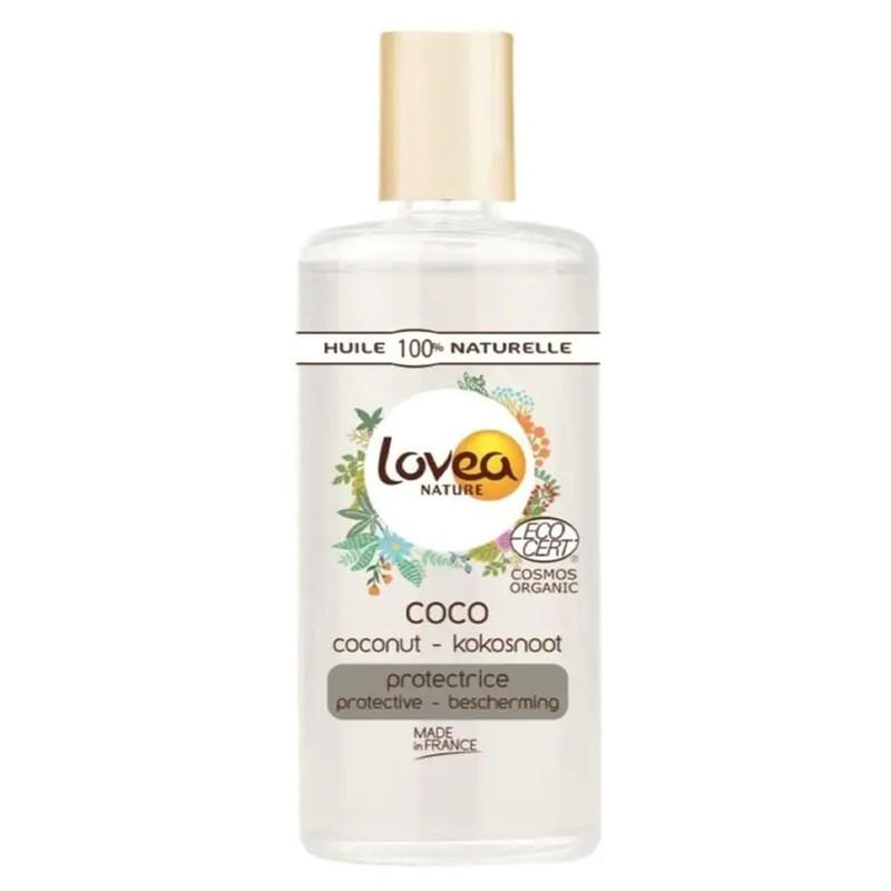 Натуральне кокосове масло Lovea Coconut Oil, 100 мл