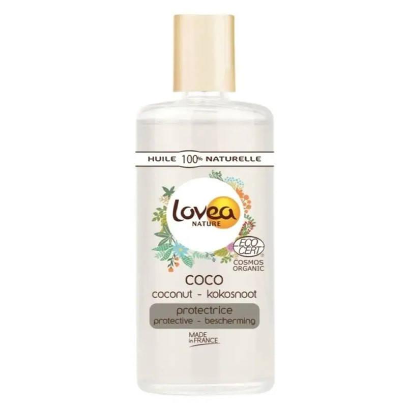 Натуральне кокосове масло Lovea Coconut Oil, 100 мл, фото 2