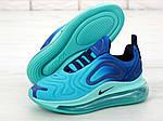 Чоловічі кросівки Nike Air Max 720 (блакитні), фото 2