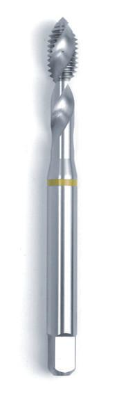 Машинний мітчик/RSP 45° DIN 371 (2184-1) 6H HSSE Form C/RSP 45° жовте кільце M10  GSR Німеччина