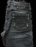 Джинсы мужские Franco Benussi 3663 темно-серые, фото 8