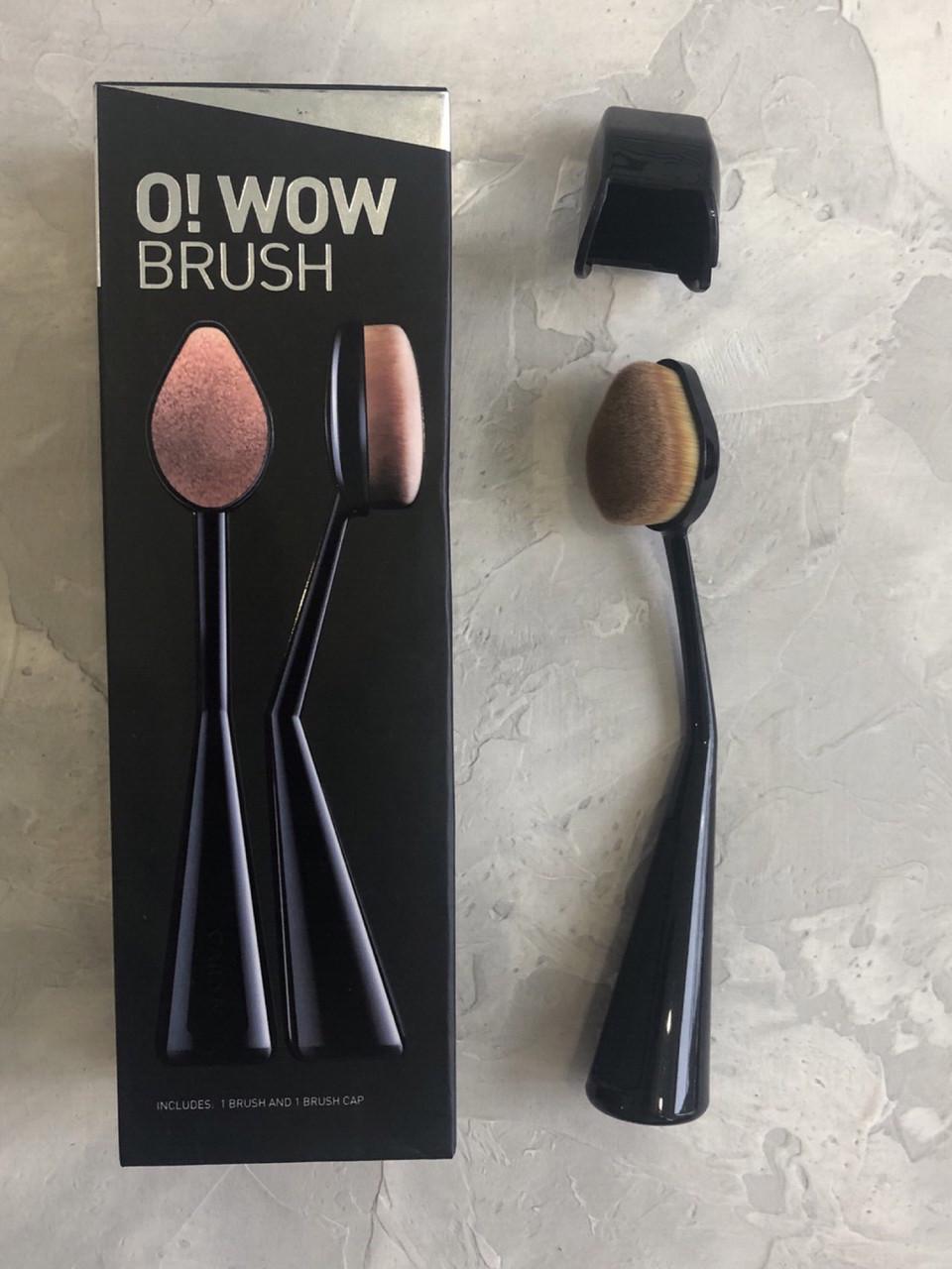 Овальная кисть CAILYN Cosmetics - O! Wow Brush эффект аэрографа