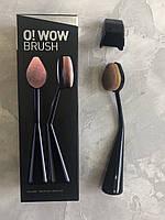 Овальная кисть CAILYN Cosmetics - O! Wow Brush эффект аэрографа, фото 1