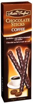 Шоколадные палочки Maitre Truffout Chocolate Sticks с кофе 75г