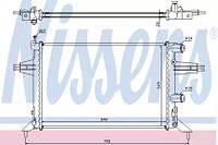 Радиатор охлаждения OPEL, Nissens 63016