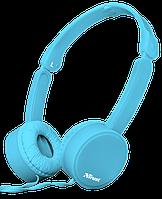 Гарнитура наушники Trust Nano Foldable Headphones Blue