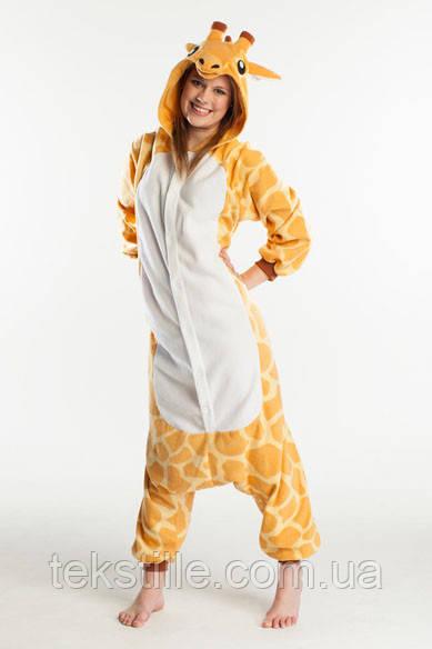 Кигуруми для взрослых Жираф S.M.L
