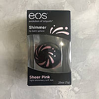 Бальзам для губ мерцающий EOS Shimmer - Sheer Pink, фото 1