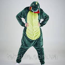 Кигуруми для дорослих Зелений Динозавр