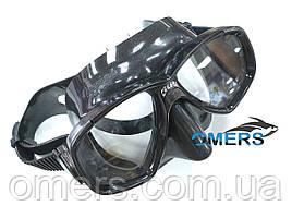Маска Cressi PERLA для подводной охоты, черная