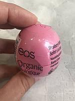 EOS lip balm strawberry sorbet (клубничный сорбет), фото 1