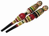 Ручка из дерева Голая гуцулка (Сувенирные карандаши и ручки из дерева)