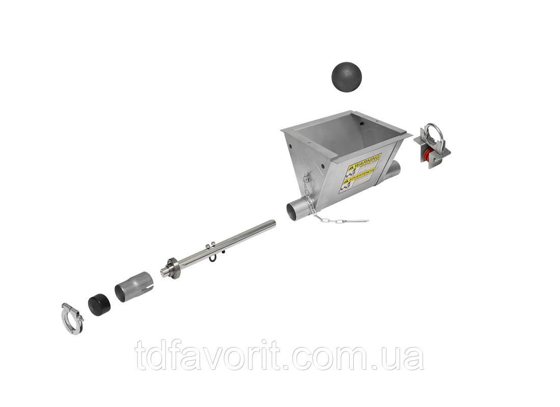 Комплект разрузчика корма на одну кормолинию  HS532KIT Ø 44  с анкерным болтом