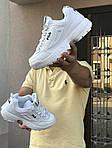 Мужские кроссовки Fila (белые), фото 3