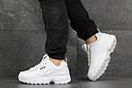 Мужские кроссовки Fila (белые), фото 5