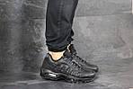 Мужские кроссовки Nike 95 (черные), фото 4